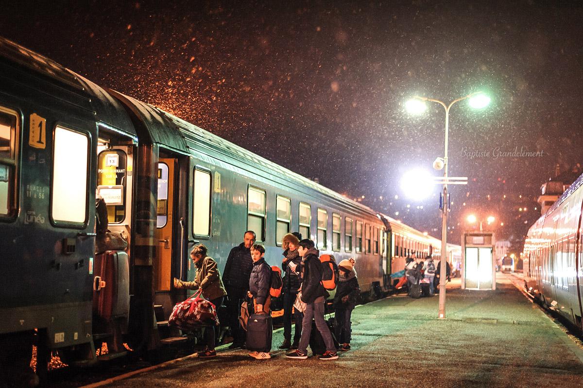 rencontre train nuit
